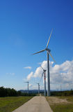Windmills, Eolic. Stock Images