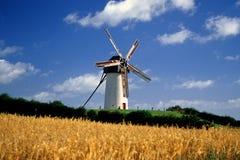 windmills för 1 skerries arkivbild