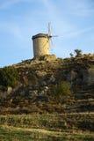 Windmills in Foca Turkey Stock Photos