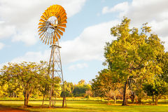 Windmills are gold in the Outback! Stock Image