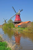 Windmills of Greetsiel Royalty Free Stock Photography