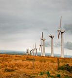 Windmills  of Hawaii Stock Photos