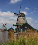 Windmills in Holland Royalty Free Stock Images