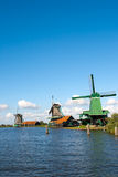 Windmills Holland Royalty Free Stock Images