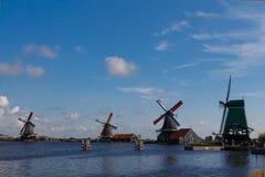 Windmills of Holland Stock Image