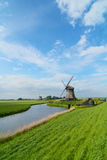 Windmills in holland Royalty Free Stock Image