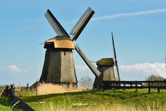 Windmills in Holland Stock Photo