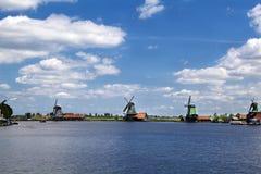 Windmills on horizon Royalty Free Stock Image