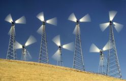 Windmills II Stock Photos
