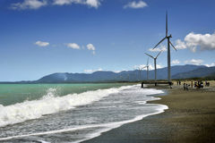 Windmills of Ilocos Stock Photo