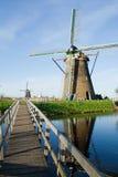 Windmills Kinderdijk Royalty Free Stock Photography