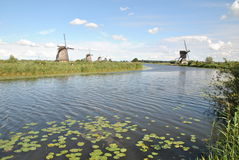 Windmills of Kinderdijk 7 Royalty Free Stock Image