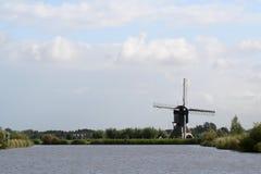 Windmills of Kinderdijk in Holland royalty free stock photos