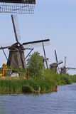 Windmills of Kinderdijk (The Netherlands) Stock Photo