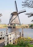 Windmills at Kinderdijk, Netherlands royalty free stock image