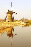 Windmills at Kinderdijk, Netherlands Royalty Free Stock Images