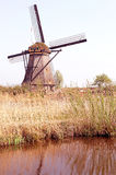Windmills at Kinderdijk, Netherlands Royalty Free Stock Photos