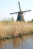 Windmills at Kinderdijk, Netherlands Stock Photos
