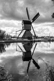 Windmills in Kinderdijk, Netherlands Royalty Free Stock Photo