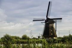 Windmills. Kinderdijk windmills ,Rotterdam, Netherlands Stock Image