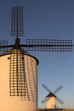 Windmills - La Mancha - Spain Stock Images