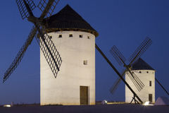 Windmills of La Mancha - Spain Stock Photo