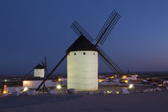 Windmills of La Mancha - Spain Royalty Free Stock Photography
