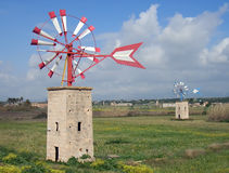 Windmills in Majorca - 10 Royalty Free Stock Image