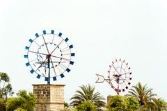 Free Windmills Majorca Royalty Free Stock Photography - 28603087