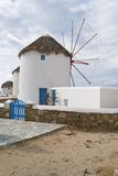 Windmills, Mykonos Royalty Free Stock Photos