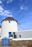 Windmills of Mykonos island Royalty Free Stock Image