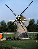 WINDMILLS IN NETHERLANDS Stock Images