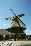 WINDMILLS IN NETHERLANDS Royalty Free Stock Photos