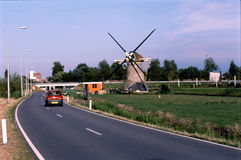 WINDMILLS IN NETHERLANDS Royalty Free Stock Image