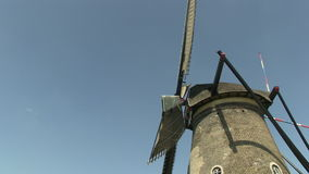 Windmills in The Netherlands stock video