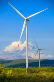 Windmills for renewable electric Stock Image