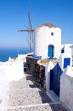 Windmills, Santorini, Greece Royalty Free Stock Image