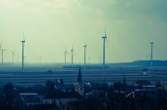 Windmills Stock Photo