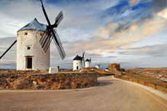 Windmills of Spain Royalty Free Stock Images