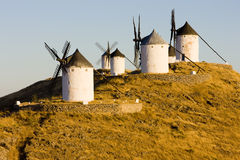 Windmills, Spain Royalty Free Stock Photo
