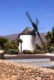 Windmills in Spain. Island fuertawentura royalty free stock image