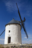 Windmills in Spain, La Mancha, famous Don Quijote Stock Image