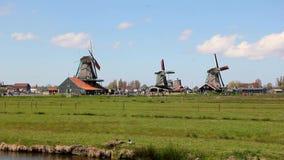 Windmills stock footage