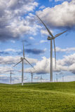Windmills on Wind Farm Royalty Free Stock Images