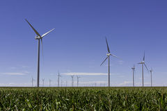 Windmills and Wind Turbines Royalty Free Stock Images