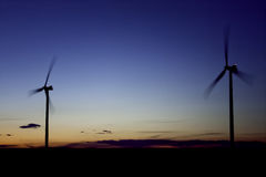 Windmills and Wind Turbines Stock Images