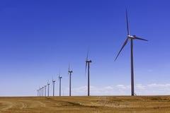 Windmills and Wind Turbines Stock Photo