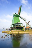 Windmills in the Zaanse Schans Stock Photos