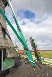 Windmills at Zaanse Schans Royalty Free Stock Photography