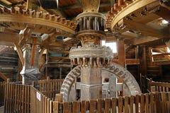 Windmills. Zaanse Schans. Netherland Royalty Free Stock Photo